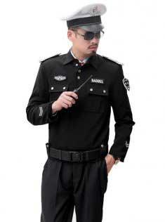 最新保安服装款式